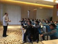 吴湘洪老师2017年2月7-8日于务川讲授《正能量与高效执行》课程圆满结束