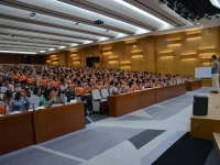 臧其超老师8月8日为烟台杰瑞集团讲授《好员工好心态》课程