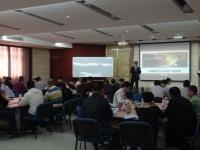 张方金老师10月16-17日为浙江桐乡糖业烟酒公司讲授《市场规划》