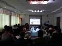 张方金老师10月22日为湖南洁美鞋业讲授《区域代理模式下代理商区域公司化运营转型之路》