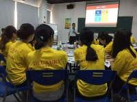 2016年7月23日张方金老师应邀来到泉州市某销售公司讲授《营销技能训练营》