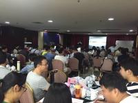2016年10月21日张方金老师为中国烟草(钦州)讲授《从新品到爆品——催动产品动销的四把钢刀》课程