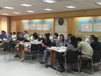 莫勇波老师2016年8月16日为深圳大亚湾核电站讲授《创新思维》课程完美结束!
