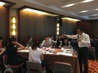 莫勇波老师2016年8月18-19日为民生银行北京分行讲授《创新思维及创新工具》课程完美结束!