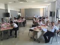 王若文老师2016年7月27日为南宁中车轨道交通装备讲授《中层卓越领导力修炼》课程
