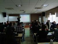热烈庆祝黄道雄老师9月8号在中国航天科技集团讲授《如何成为优秀的财务经理》课程圆满结束!