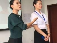 肖珂老师2月15日为天津航空讲授《化妆礼仪技巧》