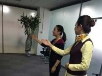 肖珂老师12月4日为江苏太平人寿讲授《职业形象与职业礼仪》