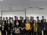 肖珂老师11月30日为恒大集团分公司讲授《国际商务礼仪》