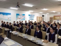肖珂老师11月24日为天津航空讲授《国际商务礼仪》