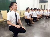 肖珂老师9月19-20日为天津航空讲授《高级乘务员气质形体提升》