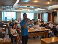萧琳老师再次受邀为汕头高新区奥星光通信设备有限公司讲授《基于战略的卓越绩效管理体系》课程!