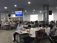 王若文老师7月14日来到广东某集团讲授了一期精彩无比的《打造高效能团队领导艺术》