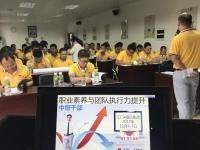 王若文老师11月6-7日为江门某集团公司讲授两天的《职业素养与团队执行力提升圆满结束》!